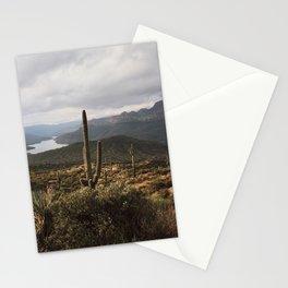 Desert River Sunset Stationery Cards