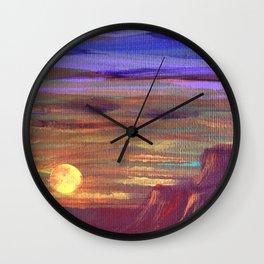 Magical Southwest Night Sky Wall Clock