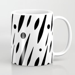 Splatter Burn B+W Coffee Mug