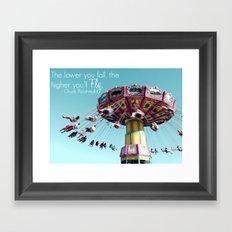 Fly. Framed Art Print