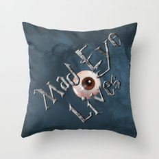 Mad Eye Lives! Throw Pillow