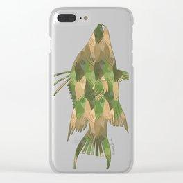 Scuba Deb's Camo Hogfish Clear iPhone Case