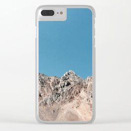 Glorious Mountains Clear iPhone Case