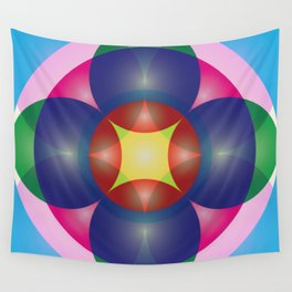 Atoms 46 Wall Tapestry