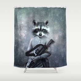 Gangster Shower Curtain