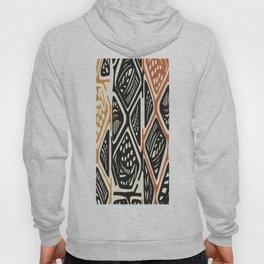 African Tribal Pattern No. 138 Hoody