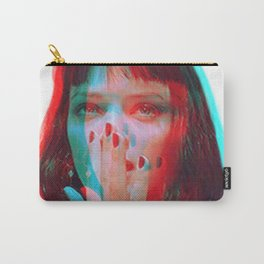 """I said goddamn. Goddamn"" - MIA WALLACE Carry-All Pouch"