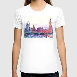 Sunset in London T-shirt