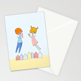 Let's go to the beach! Stationery Cards