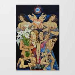 Mexican Theophany Teofania Mexicana by Juan Manuel Rocha Kinkin Canvas Print