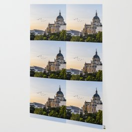 Almudena cathedral of Madrid Wallpaper