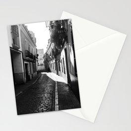 B/W Photography Street Córdoba Spain Stationery Cards