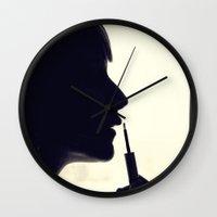 fancy Wall Clocks featuring Fancy by QianaNicole PhotoARTography