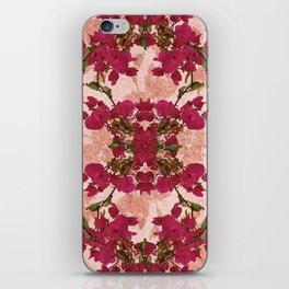 Retro Vintage Floral Motif iPhone Skin