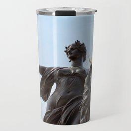 Queen Victoria Memorial Statue, London, England Travel Mug