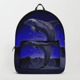 Dolphin - Night Backpack