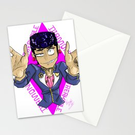 Diamond is unbreakable Stationery Cards