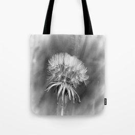 Tick Tock Dandelion Clock Tote Bag