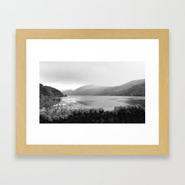 Scotland Loch and Rolling Hills Framed Art Print