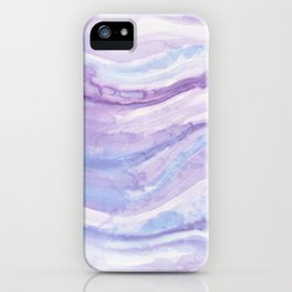 Abstract textile iPhone Case