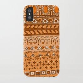 Yzor pattern 008 warm iPhone Case