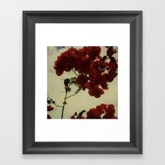 Floral Formula Framed Art Print