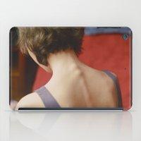 peach iPad Cases featuring Peach by Mariam Sitchinava