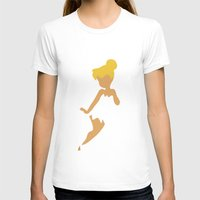 tinker bell T-shirts featuring Tinker Bell by Adrian Mentus