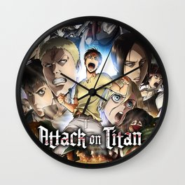 Attack on titan Captain Levi Wall Clock