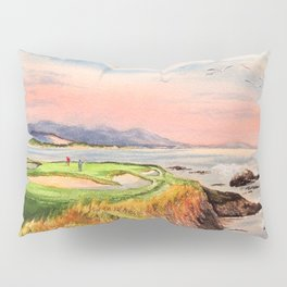 Pebble Beach Golf Course 7th Hole Pillow Sham
