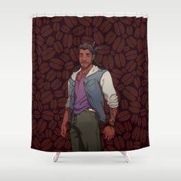 Dream Daddy: Mat Sella Shower Curtain