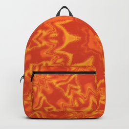 Red Orange and Yellow Kaleidoscope 5 Backpack