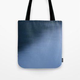The Soft Blue Hour Before Dawn at the Lake Tote Bag