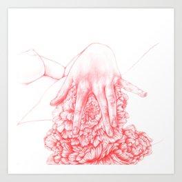 Damsel in Distress, No 1 Art Print