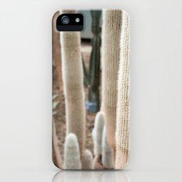Cactus II iPhone Case