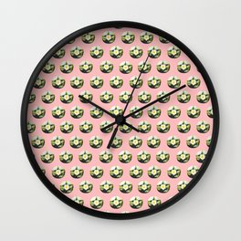 Peyote cactus pattern Wall Clock