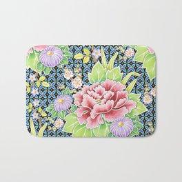Kimono Bouquet Brocade Bath Mat