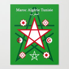 Maghreb Maroc Algérie Tunisie Travel Art Print Poster Decoration Canvas Print