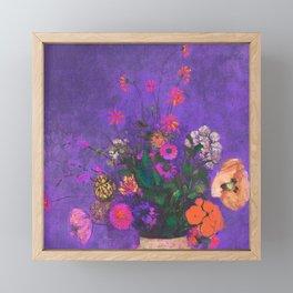 Tribute to summer Framed Mini Art Print