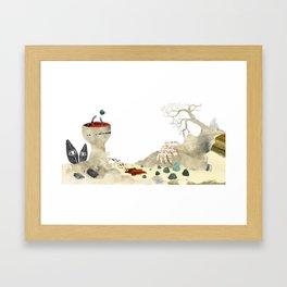 Gabriela Mistral 3 era prosa Framed Art Print