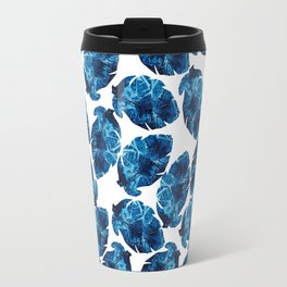 Ocean Leaves Travel Mug