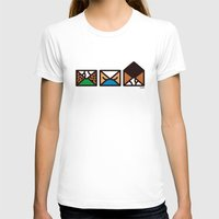letters T-shirts featuring Brief Letters by Teesha Toosha