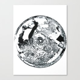 Just Patch Canvas Print