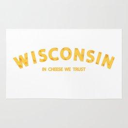 Wisconsin In Cheese We Trust Rug
