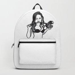 Woman_camera Backpack