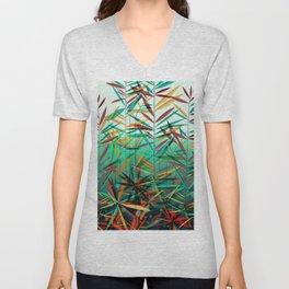 Aquatic Plants Unisex V-Neck