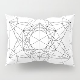 Metatron's Cube Pillow Sham