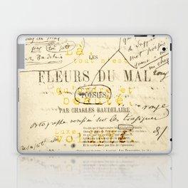les fleurs du mal l'invitation au voyage Laptop & iPad Skin