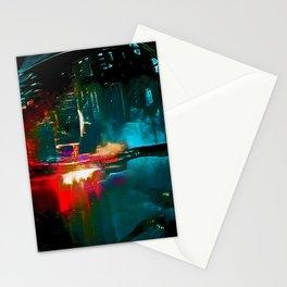 Spaceship Yard Stationery Cards