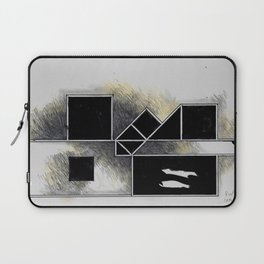 The city of black squares Laptop Sleeve